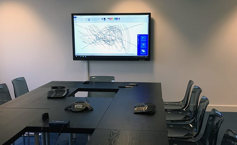 4K interactive touch screen office