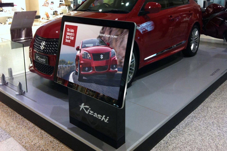 Slimline Advertising Displays Suzuki