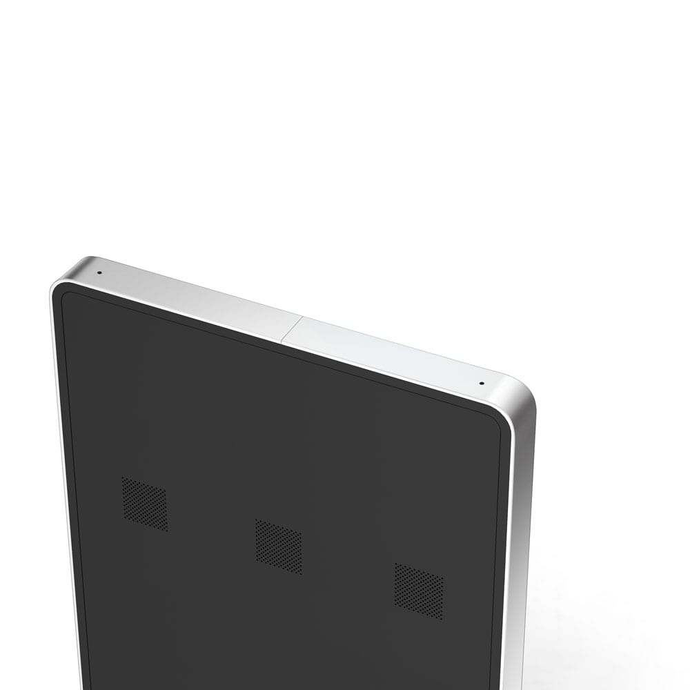 Slimline Freestanding Digital Poster top