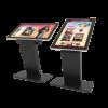 multi screen touch display kiosk