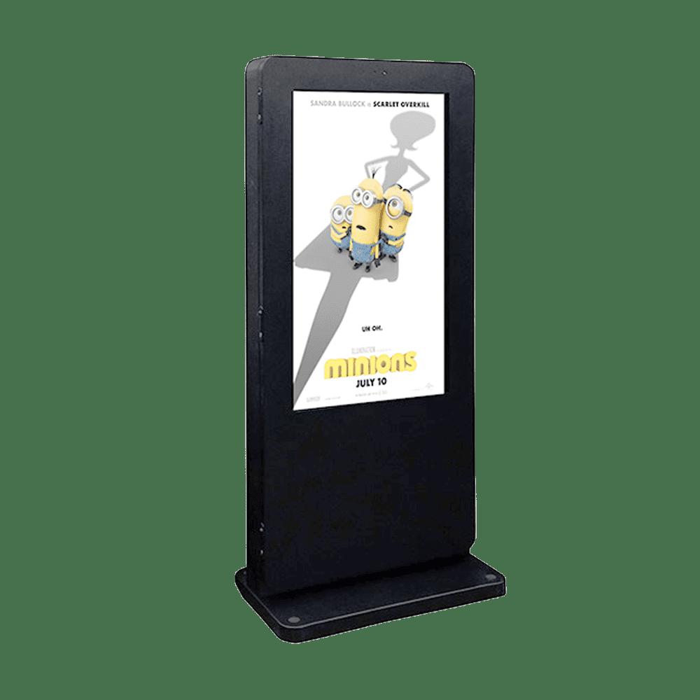 outdoor freestanding digital display