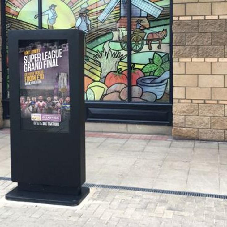 outdoor waterproof freestanding digital signage posters kiosks totems 06 Copy 1