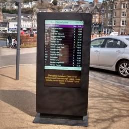 outdoor waterproof freestanding digital signage posters kiosks totems 14 Copy 1
