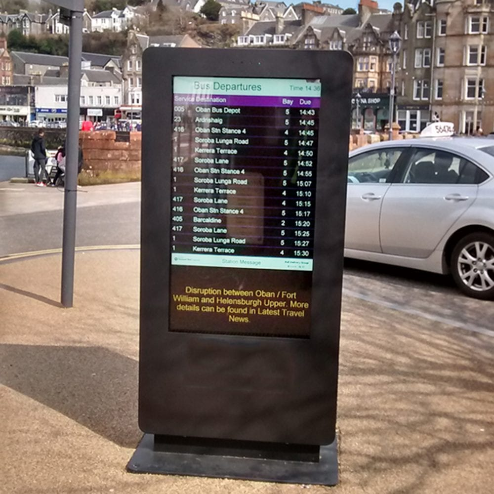 outdoor waterproof freestanding digital signage posters kiosks totems 14 Copy 1