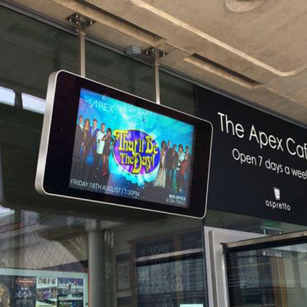 outdoor waterproof ip rated wall mounted digital signage advertising displays 1