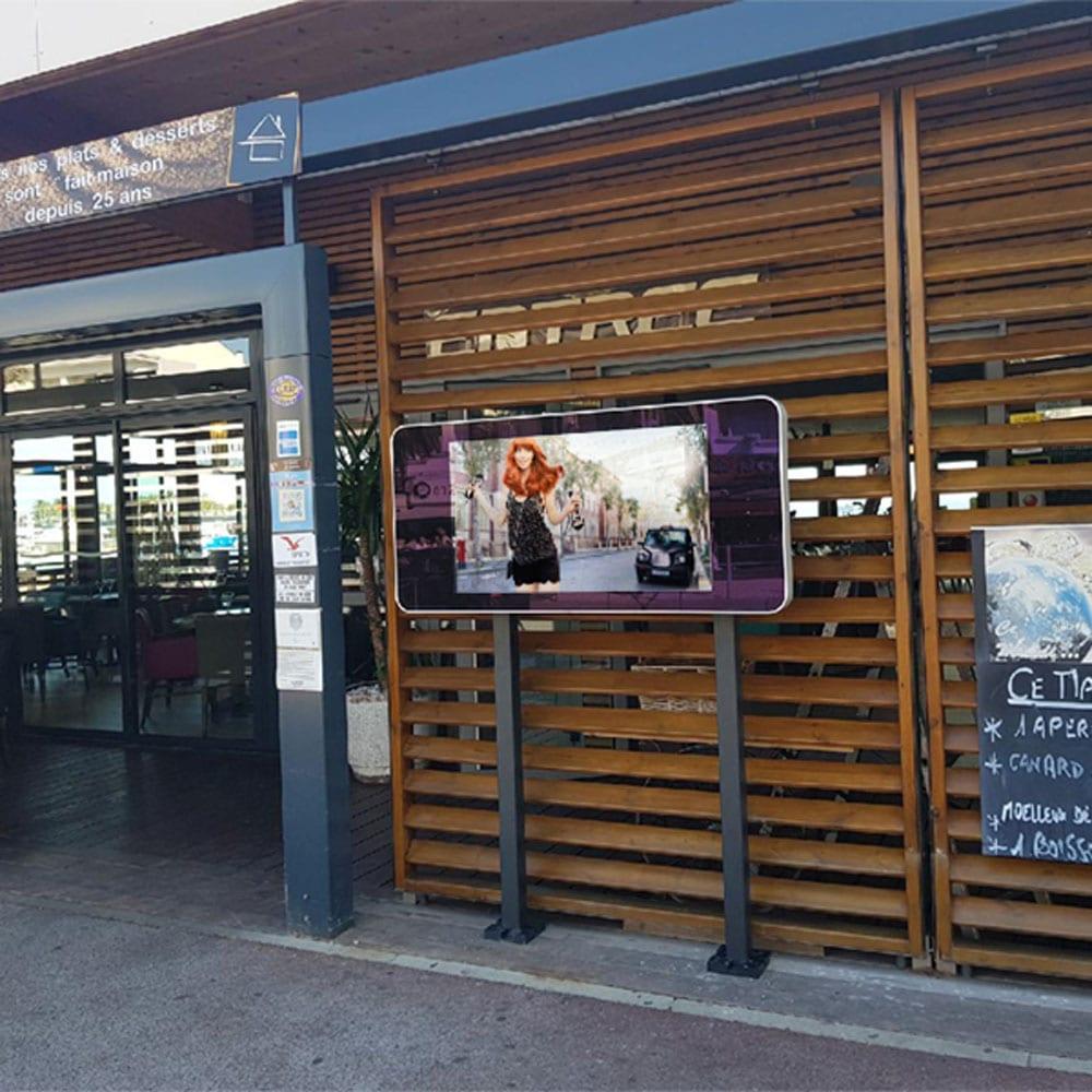 outdoor waterproof ip rated wall mounted digital signage advertising displays 27