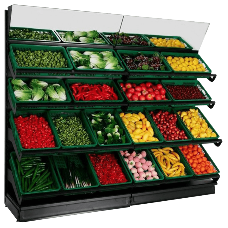 wall fruit veg displays
