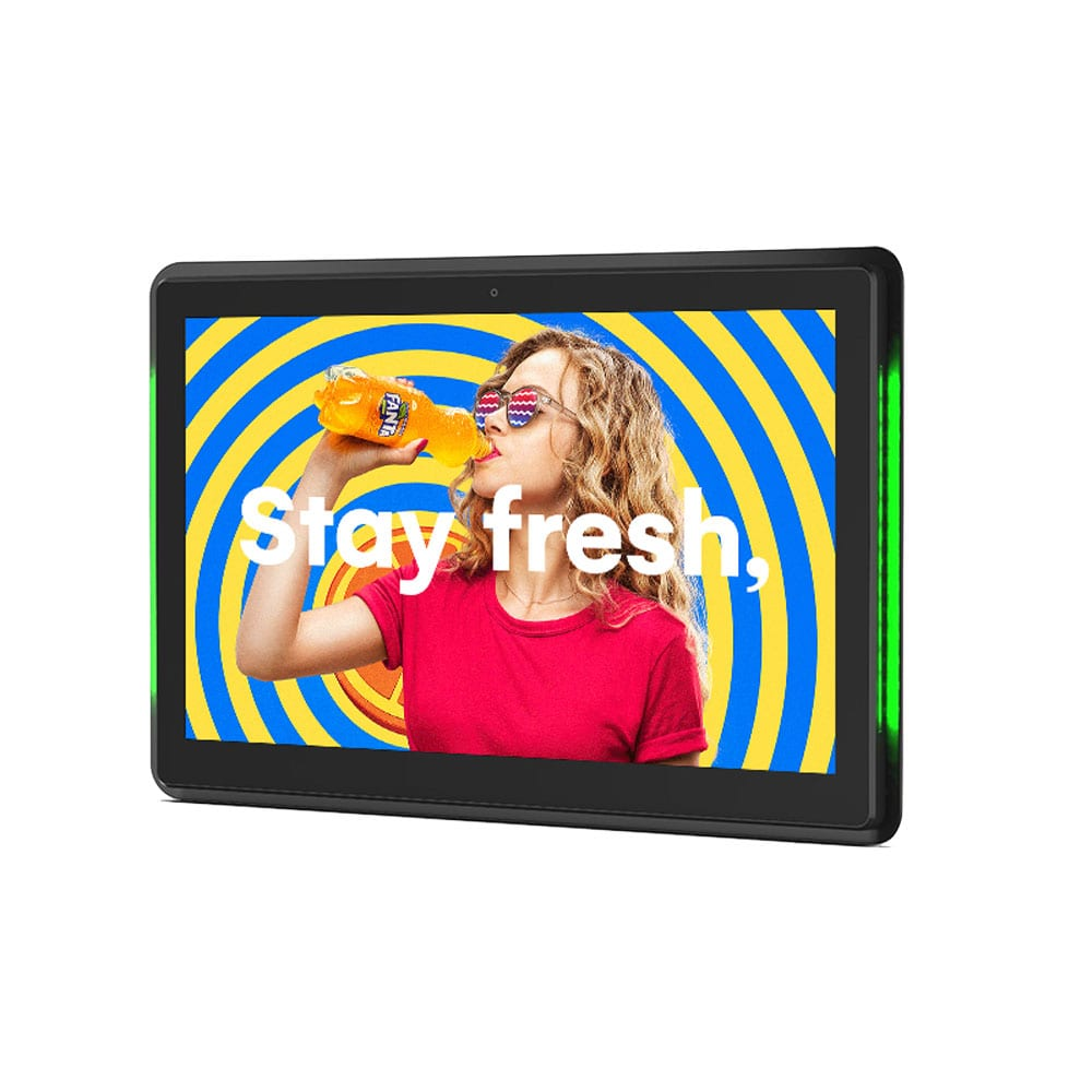 10 Inch POS Android Advertising Display White Background Image 3