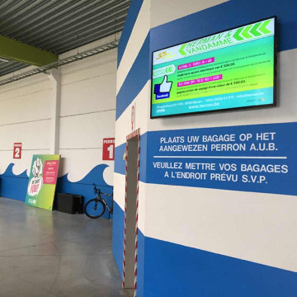 led android digital menu boards all in one network cms digital signage software advertising displays 26