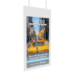 Hanging Double Sided Window Displays