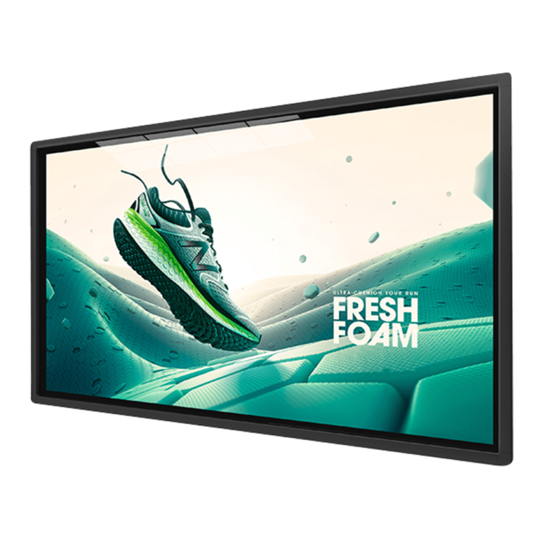 4K Large Format Displays transparent