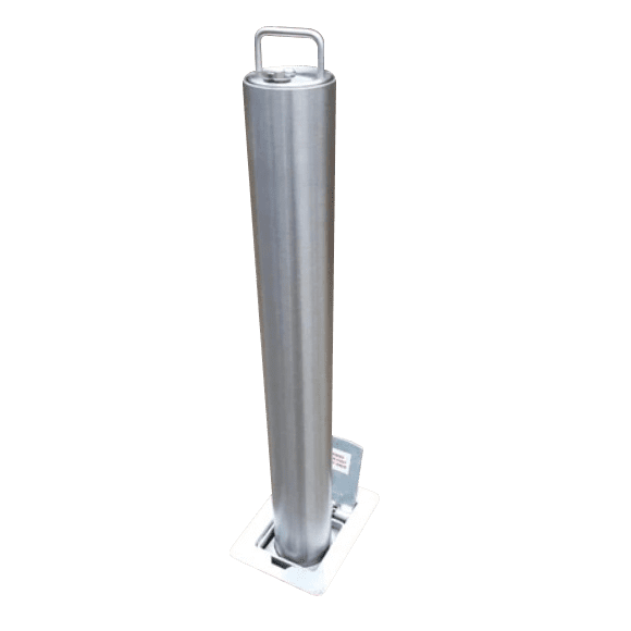 Lift Assist Stainless steel telescopic bollard 2 1
