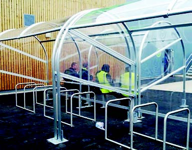 Cycle Shelter 3
