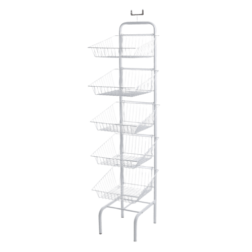 Our 3 Tier Wire Basket unit is Ideal for crisps, fruit & Veg or special offers