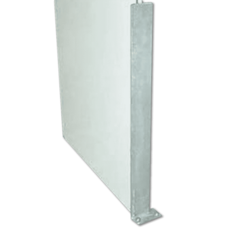 Metal Doorway Protector with corner
