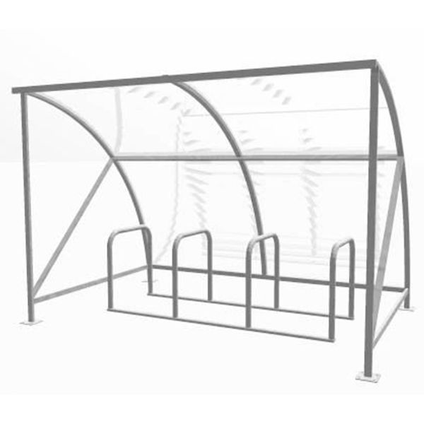 Slimline Cycle Shelter