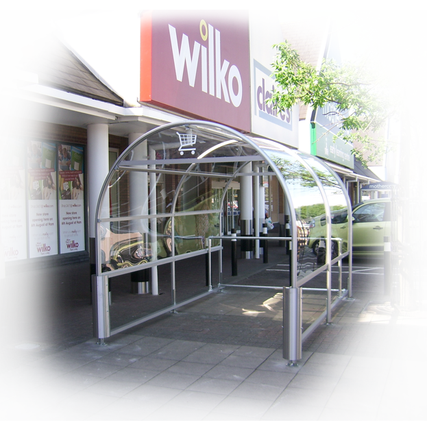 Broughton Shopping Trolley Shelter 1