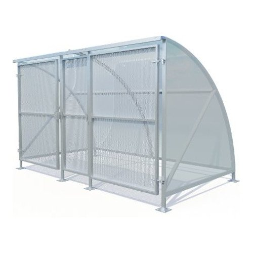 Gated Cycle Shelter