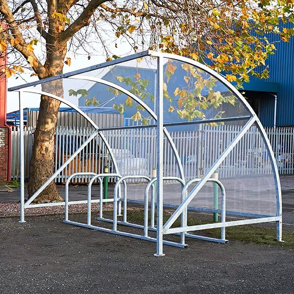 Harby 10 Cycle Shelter