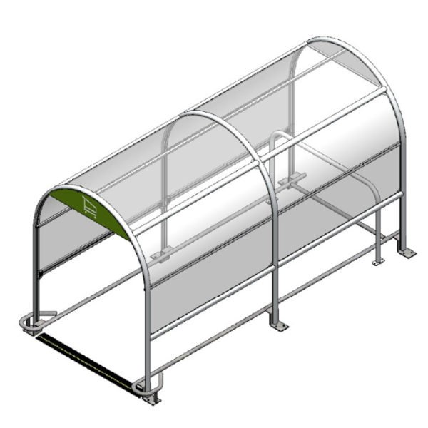Eco Shopping Trolley Shelter