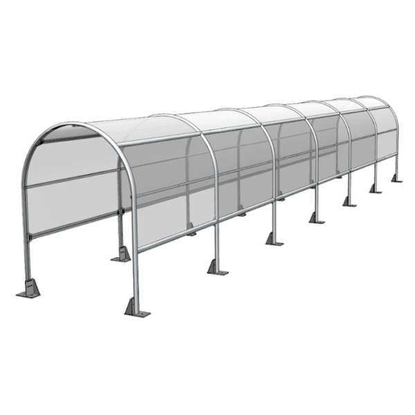 Social Distancing Queuing Shelter for shops 3