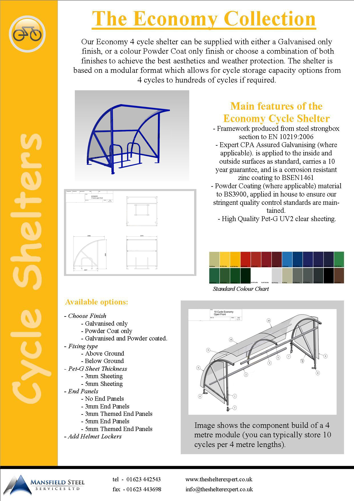 4 Cycle Shelter